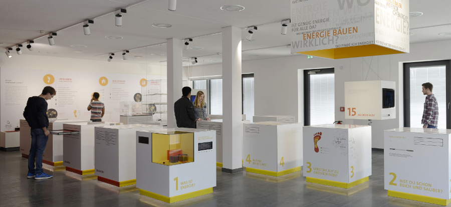 Energy Efficiency Center, ZAE Würzburg, exhibition